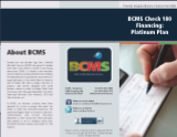 BCMS Check 180 Platinum Plan